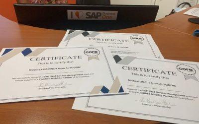 Certification SAP FSM (Field Service Management)